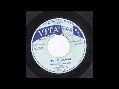 Peg Legged Woman - Nice. Available on a repro 45.