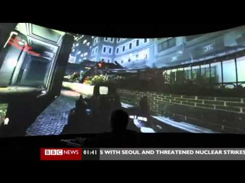 BBC Click 09-03-2013  – XVR at IGLOO 360° Dome