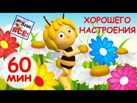 60 минут ХОРОШЕГО НАСТРОЕНИЯ Лучшие музыкальные мультики видео для детей. Наше всё - DomaVideo.Ru