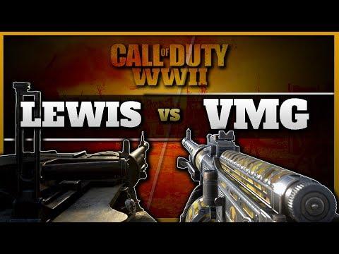 The Best LMG in CoD WW2   Lewis vs VMG 1927 (видео)
