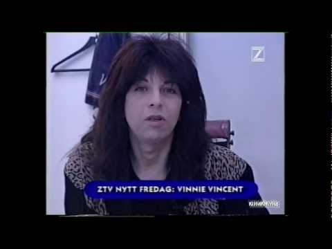 VINNIE VINCENT - TV / Interviews [ Expo. Malmö, Sweden '96 ]