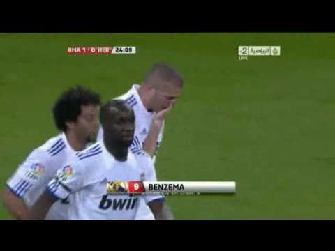 Video Real Madrid 2-0 Hercules Highlights 12-03-2011 [ http://clip.hotscore.net ] download in MP3, 3GP, MP4, WEBM, AVI, FLV January 2017