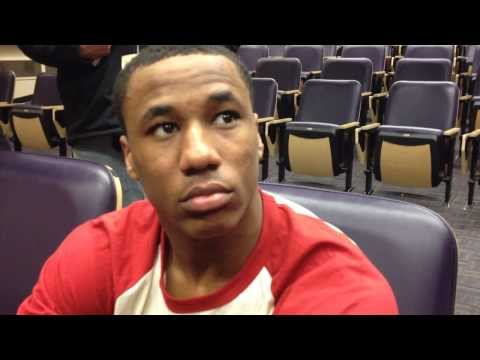 Marcus Peters Interview 11/30/2013 video.