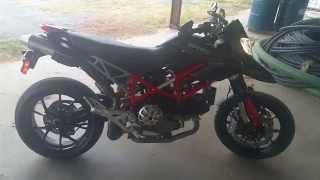 9. 2010 Ducati Hypermotard 1100 EVO