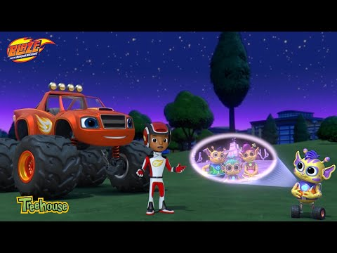 Blaze and the Monster Machines | Space Alien Adventure! Clip | Treehouse