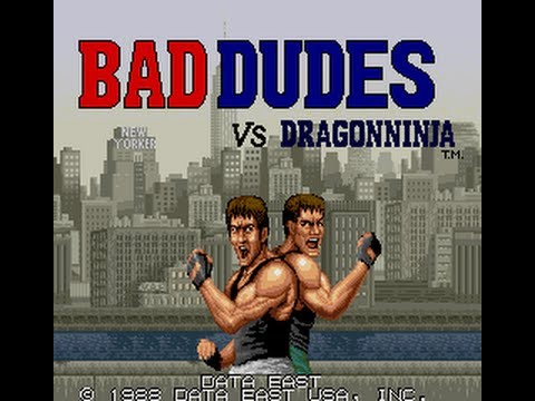 Bad Dudes vs Dragon Ninja Atari