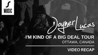 Joyner Lucas in Ottawa | I\'m Kind of a Big Deal Tour | SHIFTER