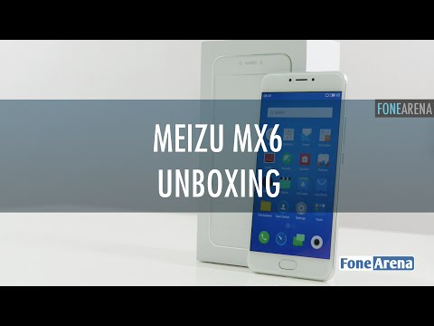 Meizu MX6 Unboxing