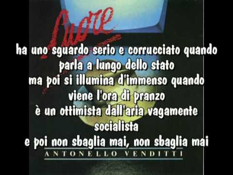 , title : 'Antonello Venditti - L'ottimista con testo'