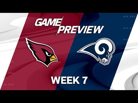 Video: Arizona Cardinals vs. Los Angeles Rams | Week 7 Game Preview | NFL Playbook