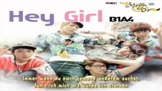 Download Lagu B1A4 (비원에이포) - Hey Girl / The Thousandth Man OST (천번째 남자 ) (ger.Sub) Mp3