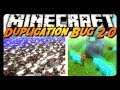 Minecraft: DUPLICATE INFINITE ITEMS / MOBS! (Bug Demonstration)