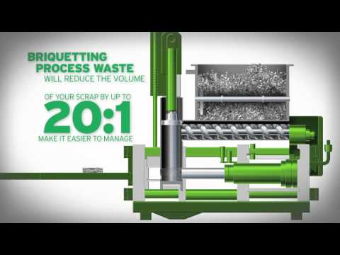 Are you into metal? | Metal Briquetting Machines | RUF Briquetting Systems