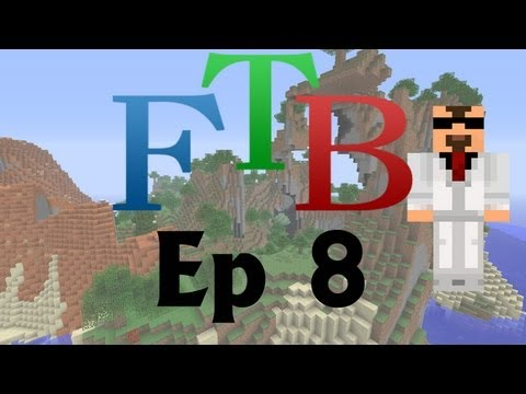 Minecraft Feed the Beast SMP S2E08: Cute Little Golems :)