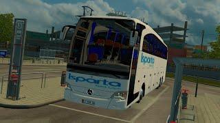 ets 2 türkiye haritası  travego otobüs modu  edirneistanbul  isparta petrol turizm