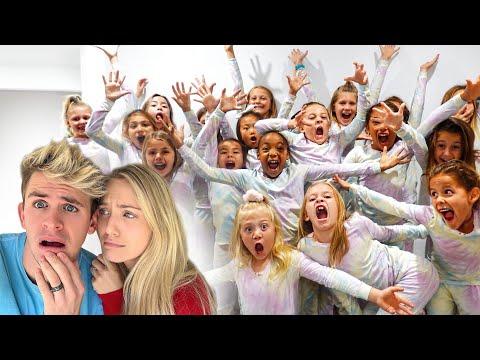 Everleigh's Insane Birthday Party Sleepover With 20 Girls!!!