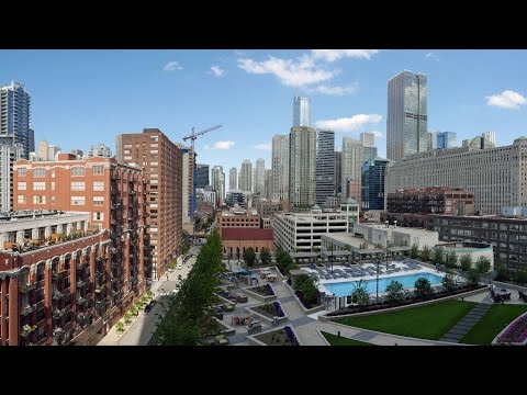 Tour the over-the-top amenities at Hubbard Place in River North