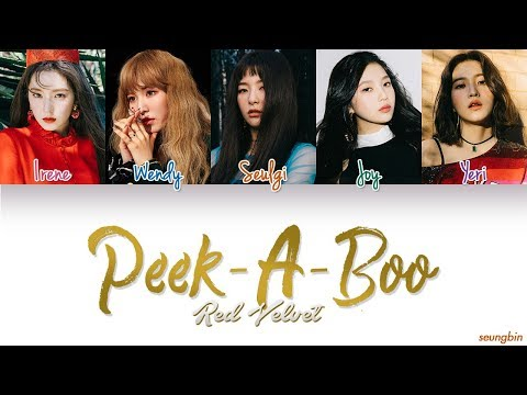 Video Red Velvet (레드벨벳) 'Peek-A-Boo' [Color Coded Han Rom Eng lyrics] download in MP3, 3GP, MP4, WEBM, AVI, FLV January 2017