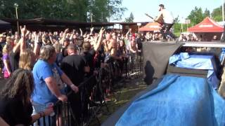 Video PORTA INFERI - Kamenité 2016 openAir - song Black River