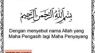 Menangis mendengar Surah 89. Al-Fajr (Fajar)