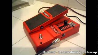 Digitech Whammy 4 demo