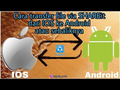 Cara SHAREit dari Iphone ke Android atau sebaliknya dengan mudah