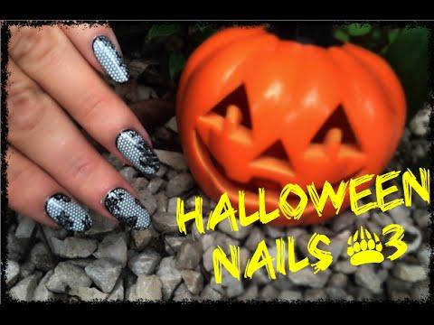 nail art strega halloween