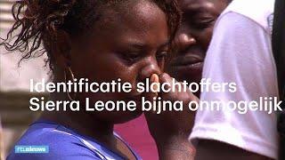 In Sierra Leone zijn honderden slachtoffers begraven van de aardverschuiving begin deze week. Officieel zijn er nu 450 doden onder het zand en modder ...