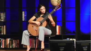 アナ・ヴィドヴィチが弾く「アストゥリアス」