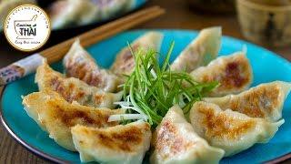 """Cómo hacer empanadas japonesas """"gyoza"""""""