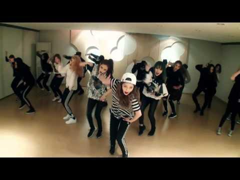 4MINUTE - '미쳐(Crazy)' (Choreography Practice Video) (видео)