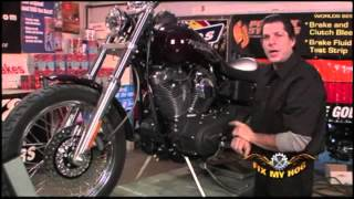 7. Harley Davidson Motor Mount Inspection