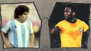 Video Pele VS Maradona-Legendary Tricks and Skills! MP3, 3GP, MP4, WEBM, AVI, FLV Juni 2018
