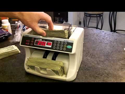 How to count over 300 $1 bills in less than 30 seconds
