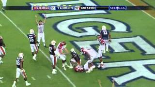 Greg Childs vs Auburn and Georgia