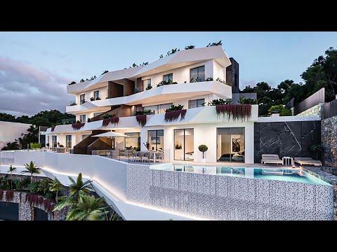 980000€+/50 м до пляжа/Элитная недвижимость в Испании/Квартиры в Бенидорме с видом на море/Премиум