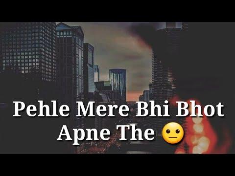 Sad quotes - very sad heart touching whatsapp status video  sad alone whatsapp status video  luv status