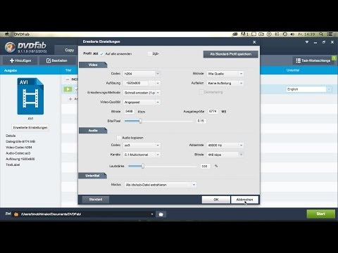 Bluray auf PC/Mac Rippen mit DVDFab 9