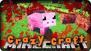 Minecraft Mods - CRAZY CRAFT 2.0 - Ep # 135 'PIGZILLA IS READY!' (Superhero / Orespawn Mod)