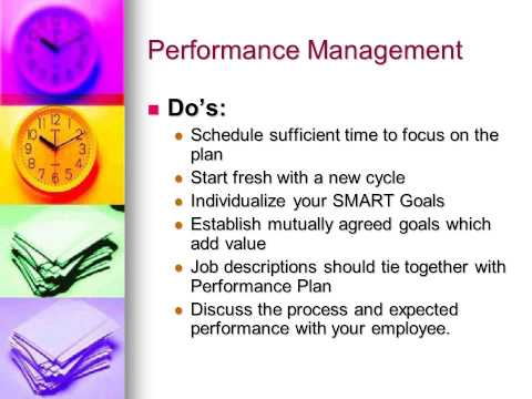 TDOC Performance Management Training Video