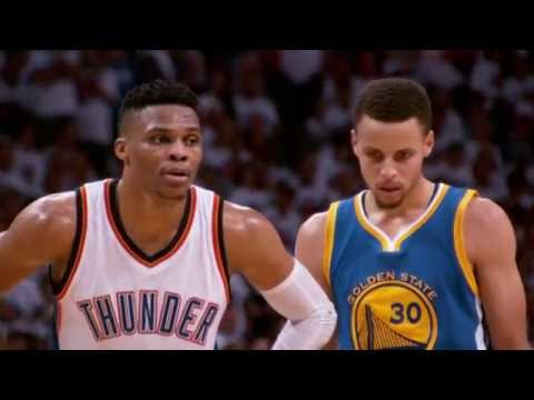 Russel Westbrook (Thunder)  i Stephen Curry (Warriors)