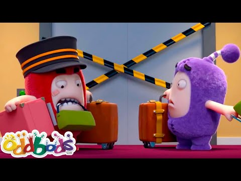 Oddbods | HOTEL HASSLE | Oddbods Full Episodes | Funny Cartoons For Kids