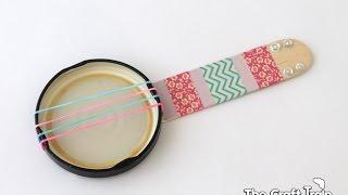 Download Lagu How to make a mini banjo Mp3