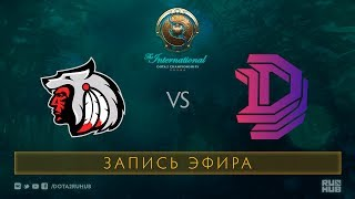 Comanche vs DD, The International 2017 Qualifiers [V1lat, GodHunt]