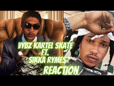 Is ah gal go fi him Vybz Kartel   Skate ft  Sikka Rymes Reaction