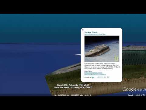 0 Explore The Titanic In 3D In Google Earth