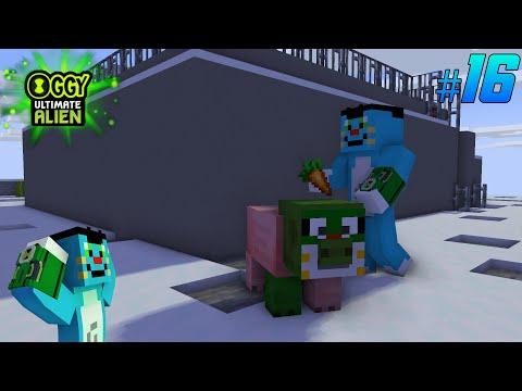 Jack ban gaya piggy | Oggy Ultimate Alien Part - 16 | Minecraft