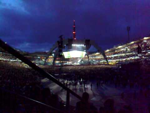 0 The U2 concert at Ullevi in Gothenburg, Sweden