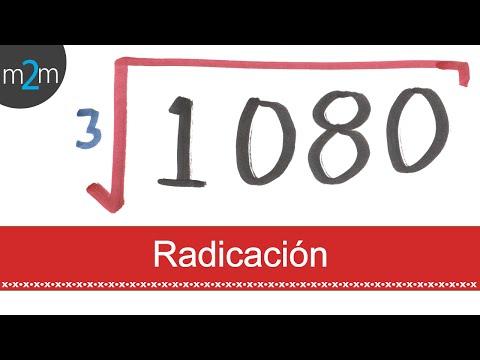 Radizieren: Wurzelziehen von ganzen Zahlen und natürliche Zahlen