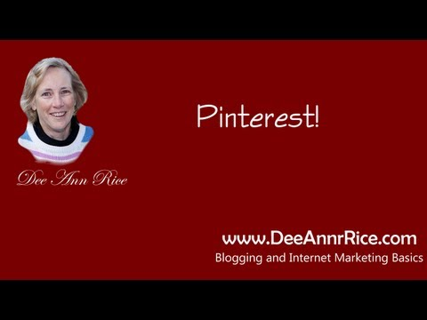 Pinterest – What Is It? How To Use It!